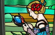 Vitrall del Museu d'Art de Cerdanyola