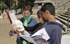 Taller d'arqueologia a la necròpolis paleocristiana de Tarraco