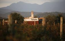 La Vinyeta es troba al peu de la serra de l'Albera