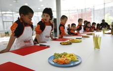 Tallers d'alimentació  'Cuinar, menjar, viure' de la Fundació Alícia