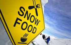 L'Snow Food està ubicat en una construcció iglú