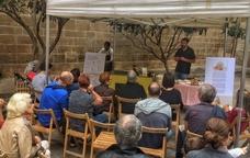 Una de les xerrades-taller de la biofira de Solsona