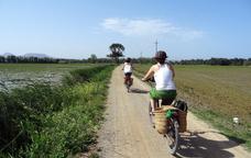 Ruta en burricleta pels camins de l'Empordà