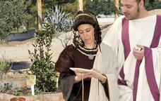 Caius i Faustina en una visita guiada