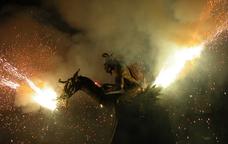 Cercavila de foc a la Festa Major del Vendrell
