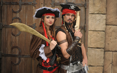 Disfresses de pirates per al Carnestoltes