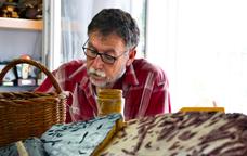 Martí Boada, autor de les peces de l'exposició