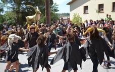 La festa de la Cabra d'Or de Moià