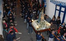 Processó en honor de la Mare de Déu de la Candelera a l'Ametlla de Mar