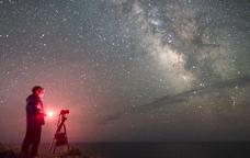 El cel nocturn de Formentera
