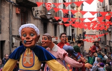 Els gegants bojos del carnaval de Solsona