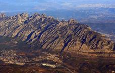 La serra de Montserrat és un dels principals espais d'interès geològic del Geoparc