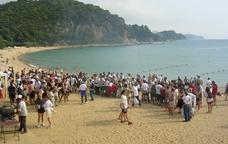En acabar la marxa de les Platges de Lloret de Mar