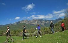 Marxa nòrdica a les muntanyes del Berguedà