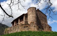 La Sala, a Viladrau, masia natal de Serrallonga
