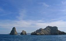 Les illes Medes vistes des de l'Estartit