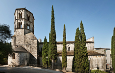 El monestir de Sant Pere de Galligants, seu del MAC a Girona