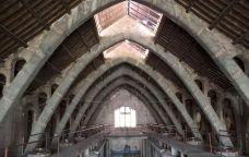 Interior del Celler Cooperatiu de l'Espluga de Francolí