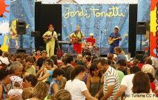 Concert de Jordi Tonietti al festival Esbaiola't