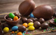 Ous de xocolata per decorar la mona de pasqua