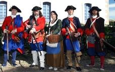 Recreació històrica de l'Associació de Miquelets de Catalunya