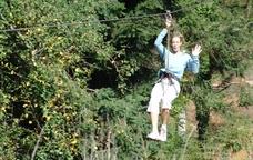 Activitats al parc de la Selva de l'Aventura