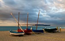 La platja de Sant Pol de Mar