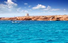 Vorejant les aigües de Formentera