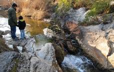 El toll de l'Olla, un tresor del riu Brugent