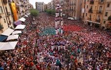Tres de nou amb folre de la Colla Jove de Tarragona
