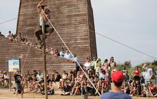 Un espectacle de circ al Deltebre Dansa