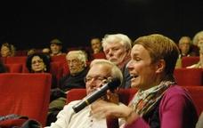Debat sobre el cinema a una de les sales del festival