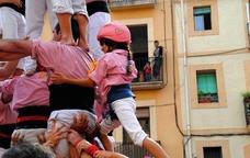 Enxaneta dels Xiquets de Tarragona