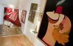 Una de les sales de l'exposició del pallasso Charlie Rivel