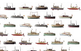 Vaixells de joguina de la col·lecció Juncosa