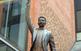 Escultura de Lluís Millet i Pagès davant del Palau de la Música Catalana