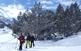 Amb raquetes de neu pel bosc de Moretó
