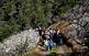 Passejada entre els cirerers florits de Sant Climent de Llobregat