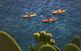 Iniciació al caiac de mar en una ruta guiada