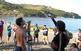 Tast de vins a la platja del Garbet