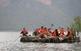 Navegant pel pantà de Sau