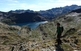 Excursionista arribant al pic de Certascan