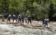Els raiers recorren uns 6 km fins al Pont de Claverol