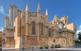 Vista lateral de la catedral de Tarragona