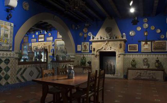 Qui va fundar el Museu del Cau Ferrat?