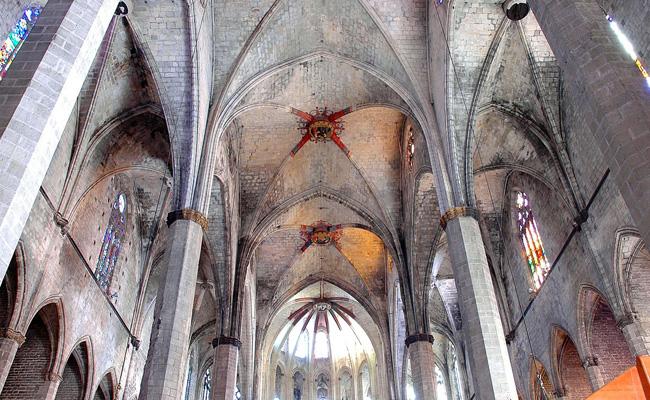La basílica de Santa Maria del Mar és un dels principals edificis catalans d'estil...