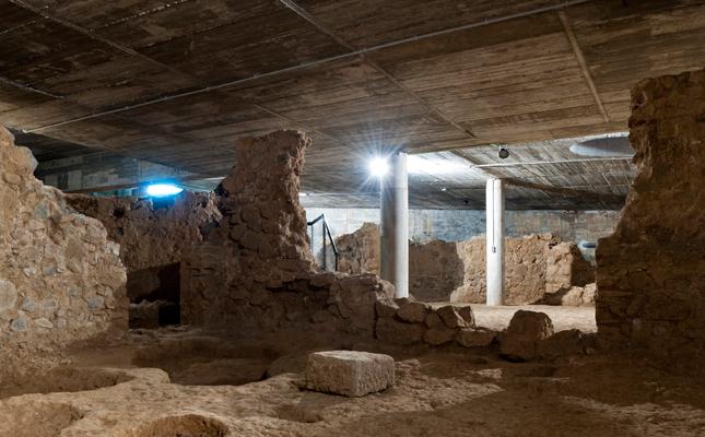 On es troben les restes de l'únic edifici romà de planta octogonal de Catalunya?