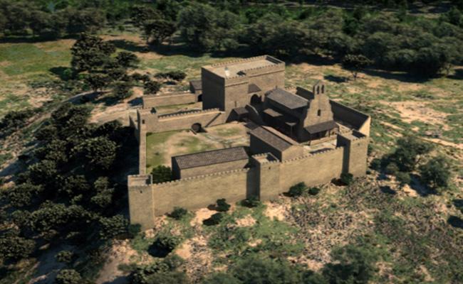 Sota quin orde es va edificar el castell de Gardeny?
