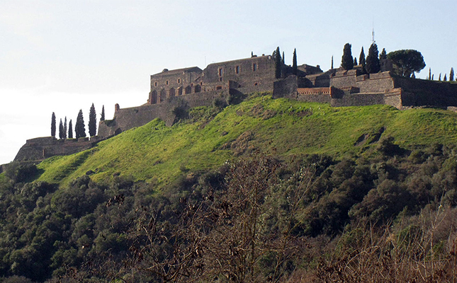 Quants mesos va resistir assetjat el castell d'Hostalric abans de caure en mans napoleòniques?