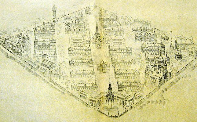 Quin arquitecte va dissenyar l'edifici de l'Hospital de Sant Pau?